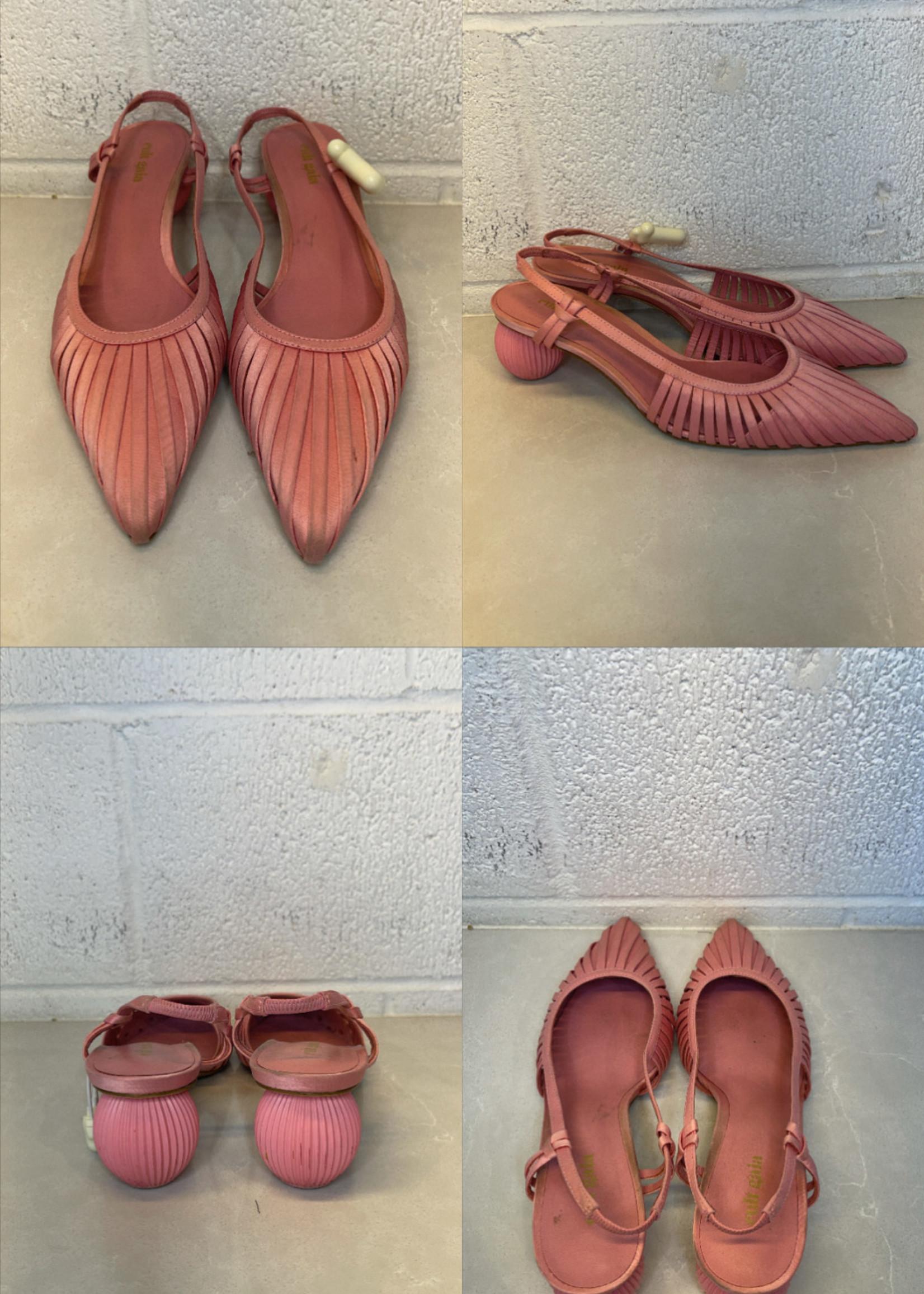 Cult Gaia pink mule alia heel (Retail: $200+) 8