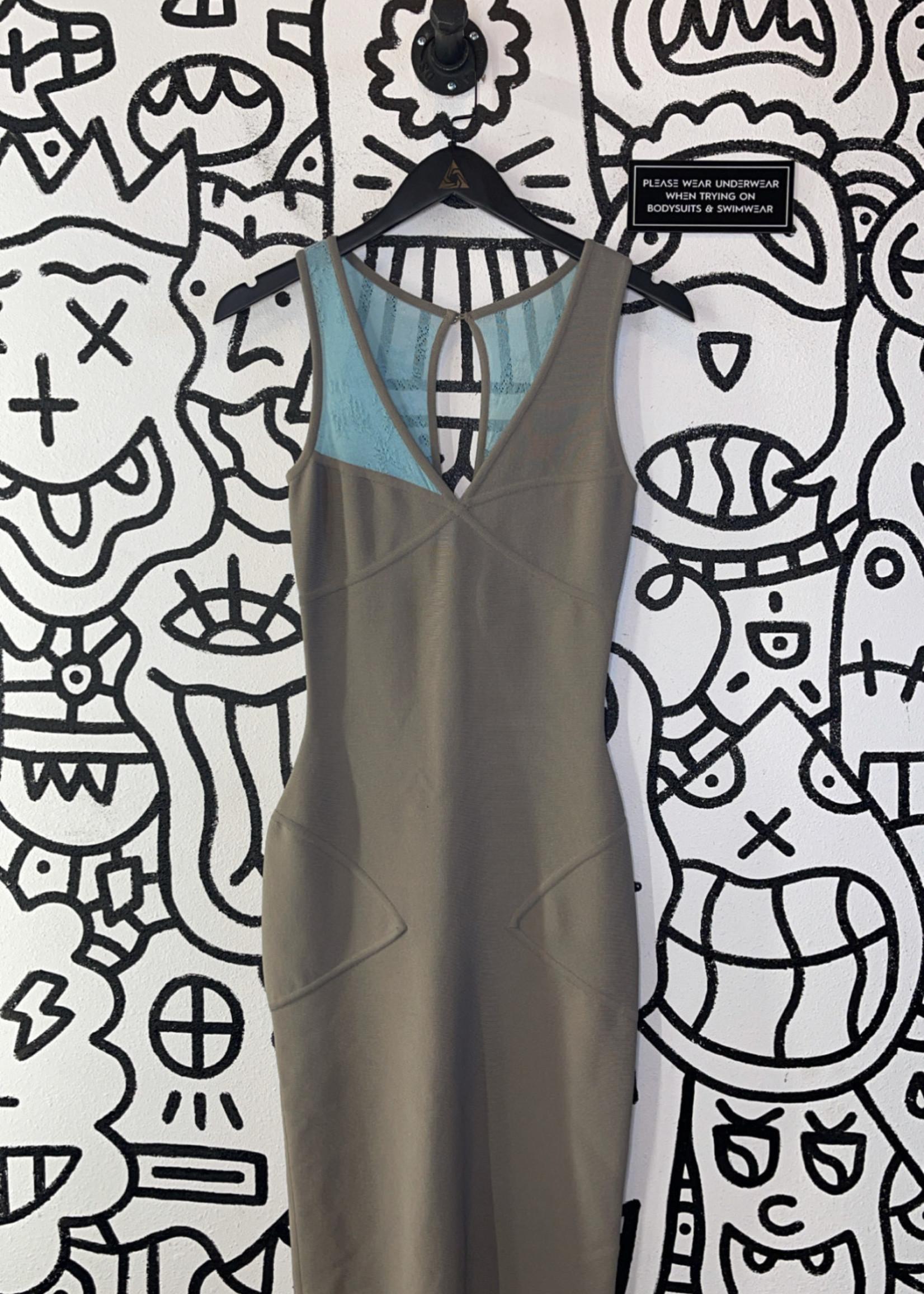 Herve Leger Designer Dress 4/S Retail: $442