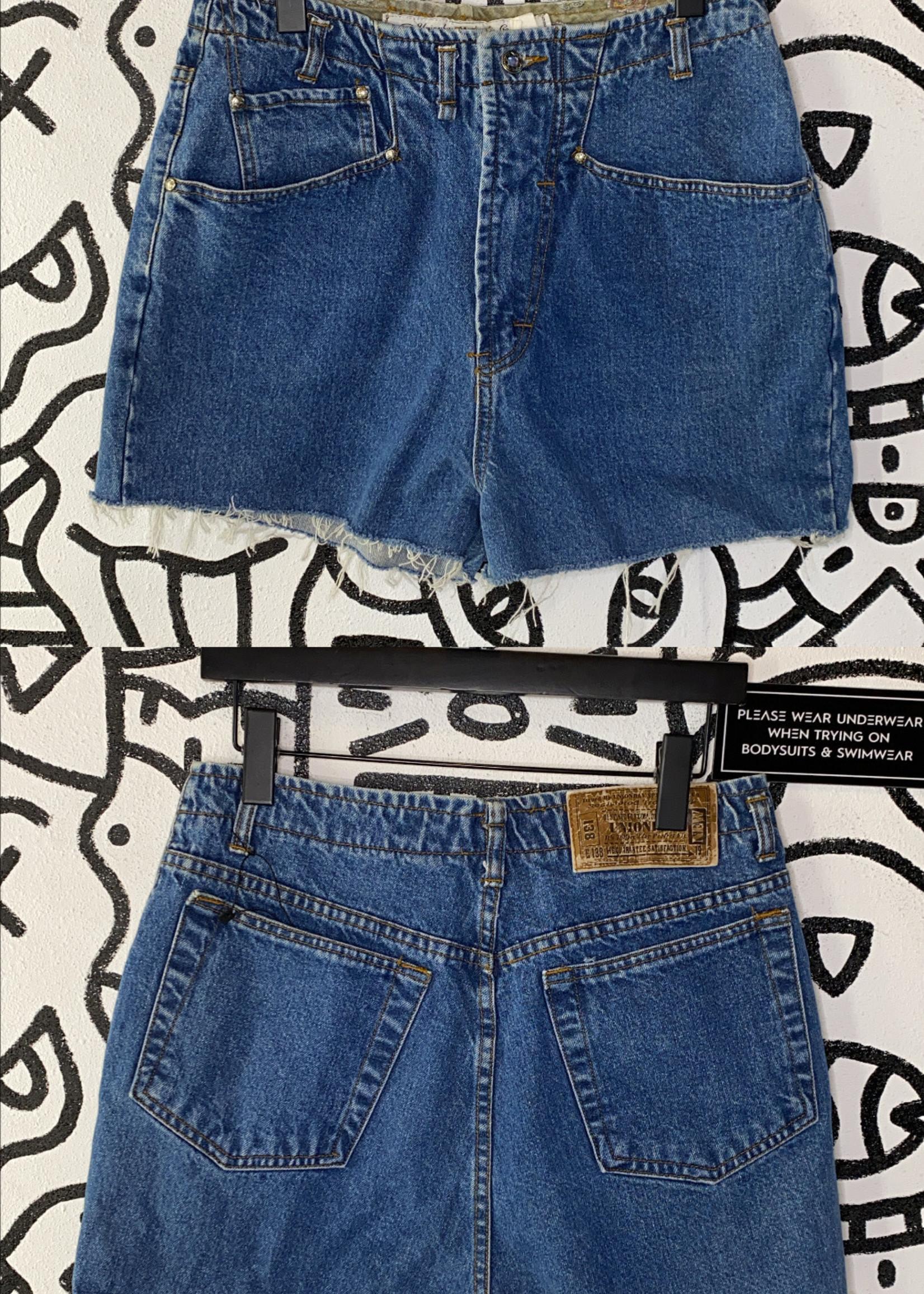"Union bay denim and co Vintage cut off denim jean shorts 30"""