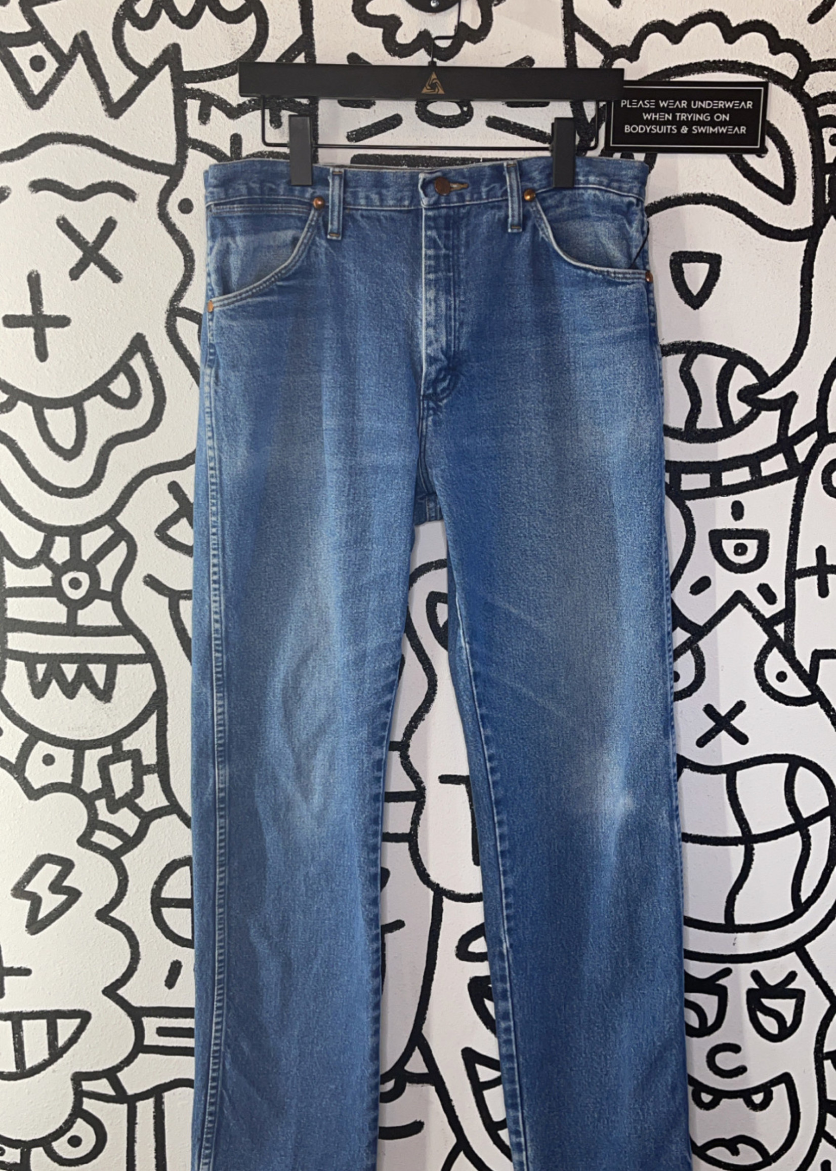 """Vintage Wrangler Regular Wash Jeans 32"""""""