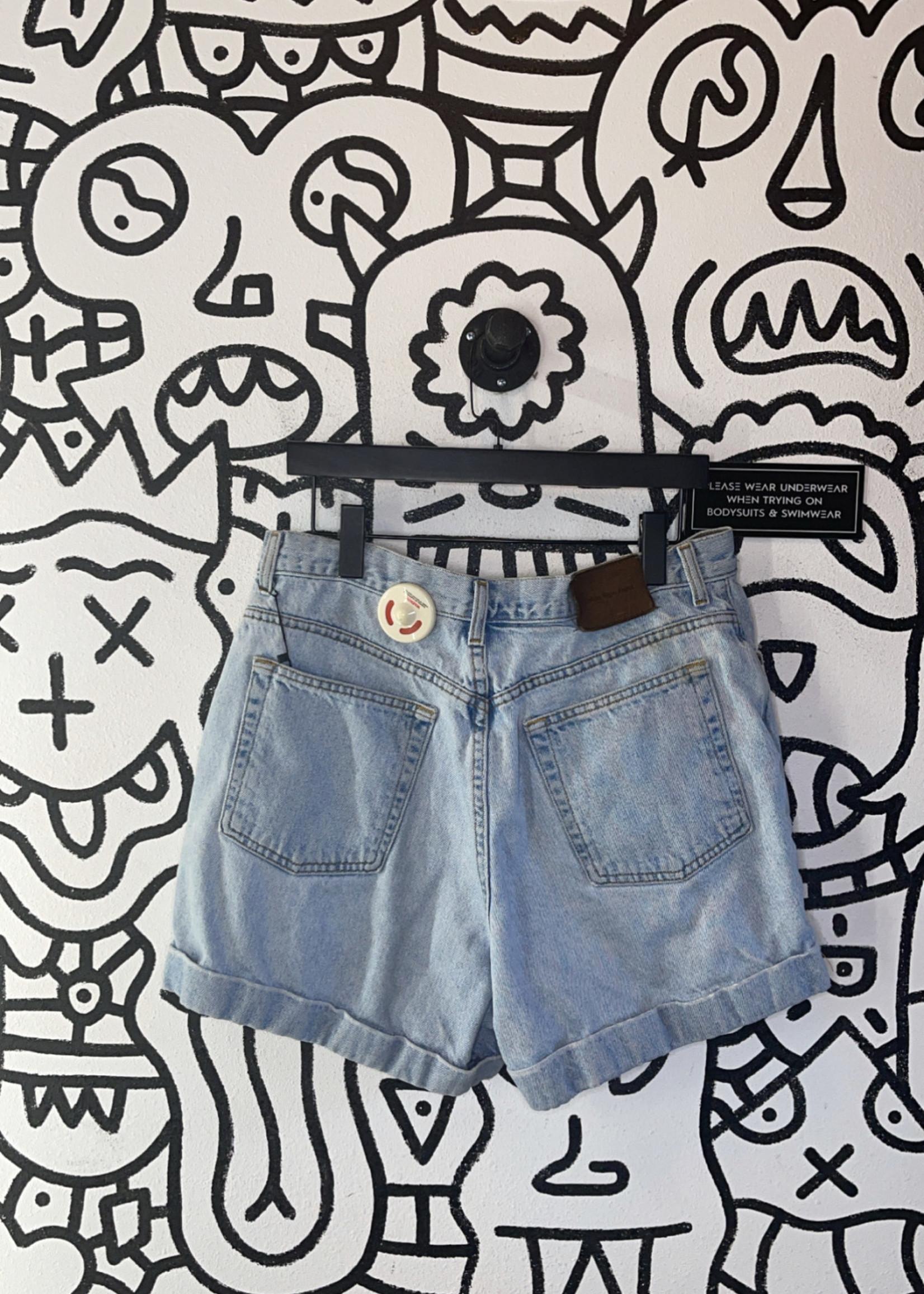 "Vintage Calvin Klein Jean Shorts 16/32"" L"