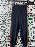 BDG red and black jogger jeans 25