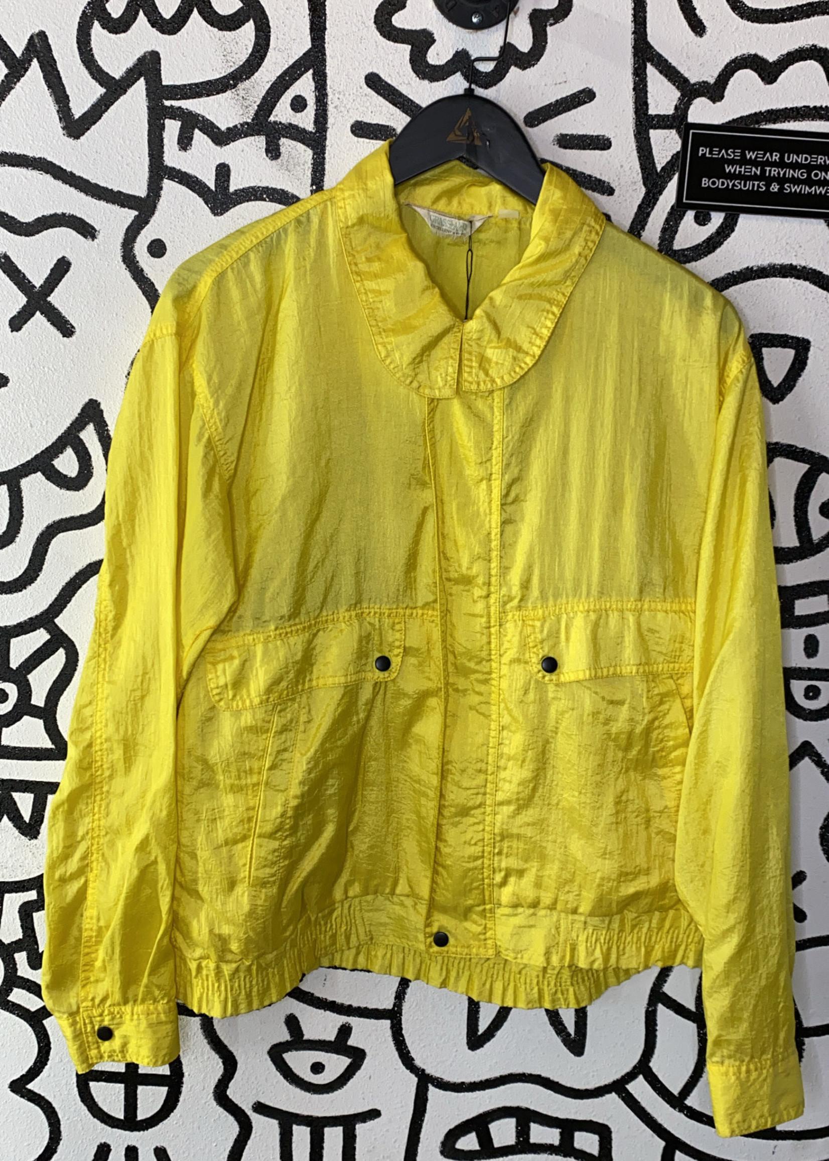 Grassland Vintage Yellow Windbreaker S