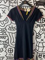 Catherine malandrino black knit mini dress S