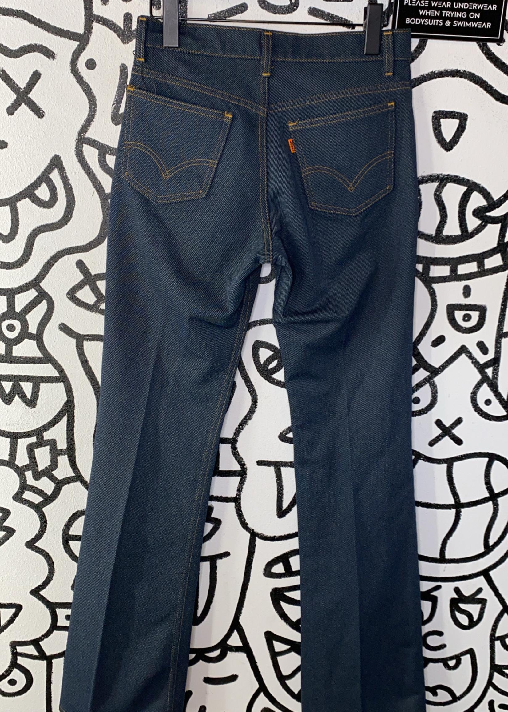 Vintage '80s Levi's orange tag  dark wash denim pants 26