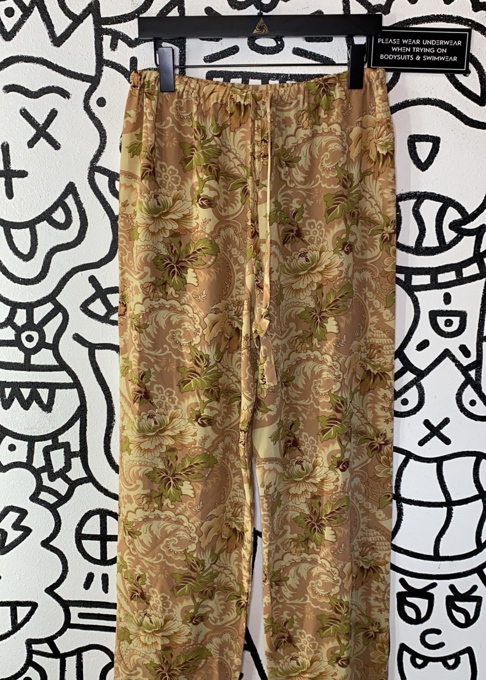 Banana Republic Paisley Sheer Pants M