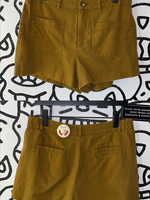 "Madewell brown pocket shorts 32"""