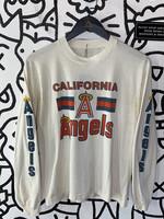 Vintage California Angels White Long Sleeve S