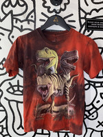 The Mountain Dinosaurs Red Tee XS