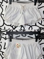 Lululemon White Running Hot Shorts 2/XS