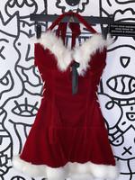 Playboy Sexy Mrs. Claus Dress M