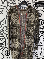 Free People Brown Knit Long Cardigan Sweater XS