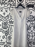 Be Smart Vintage White Picnic Dress S
