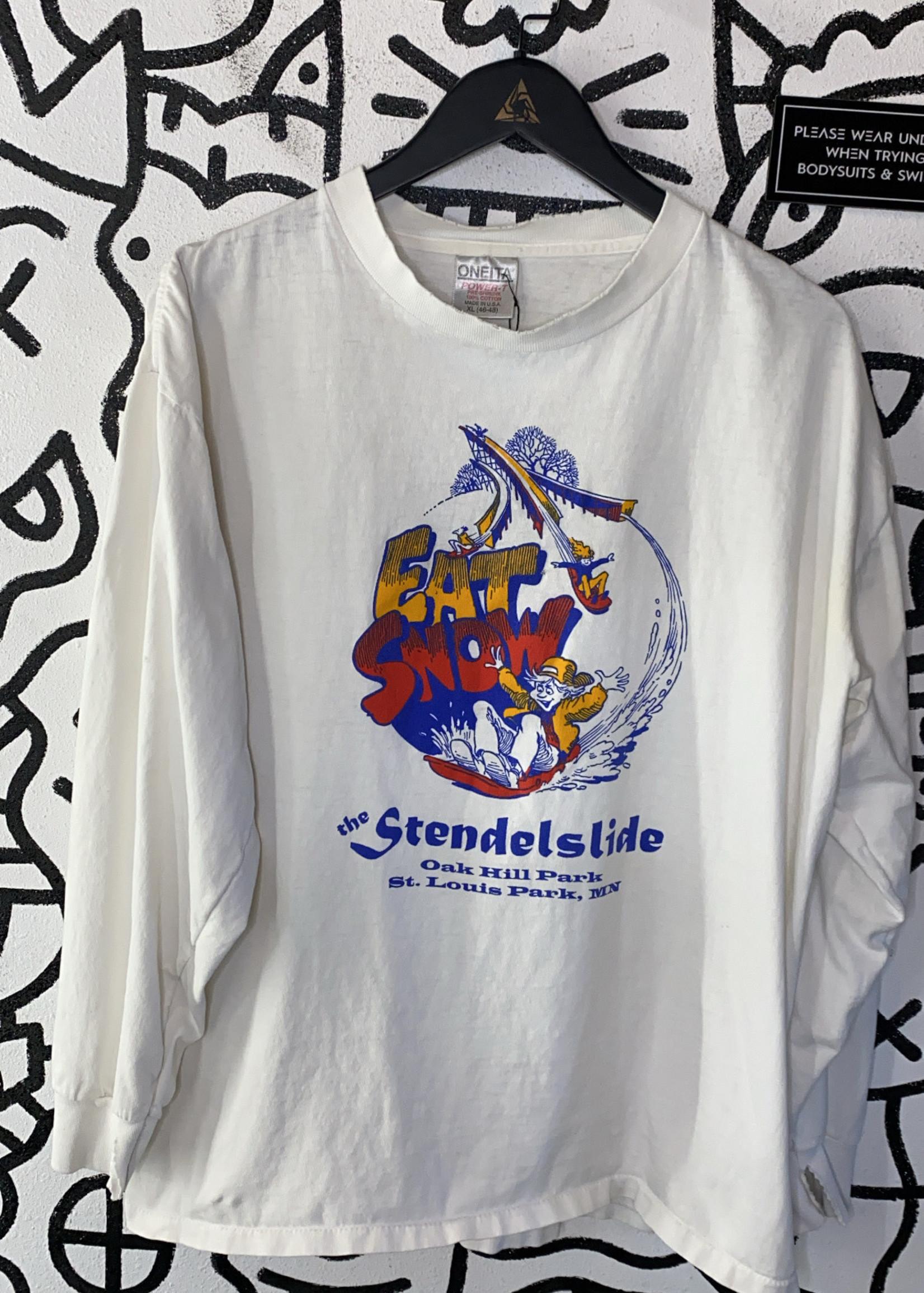 Vintage eat snow long sleeve shirt XL
