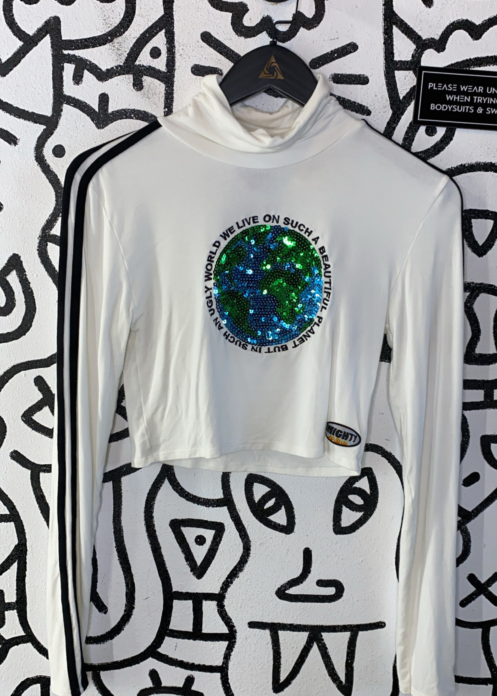 Omighty sparkle long sleeve M