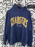 Vintage Chargers Navy Blue Hoodie XL