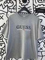 Vintage Guess American Tradition Gray Tee XL