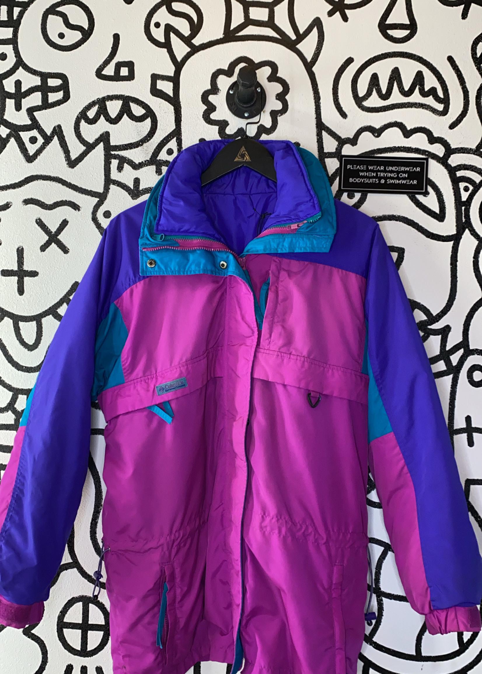 Vintage Columbia '80s Colorblock Snow Jacket S