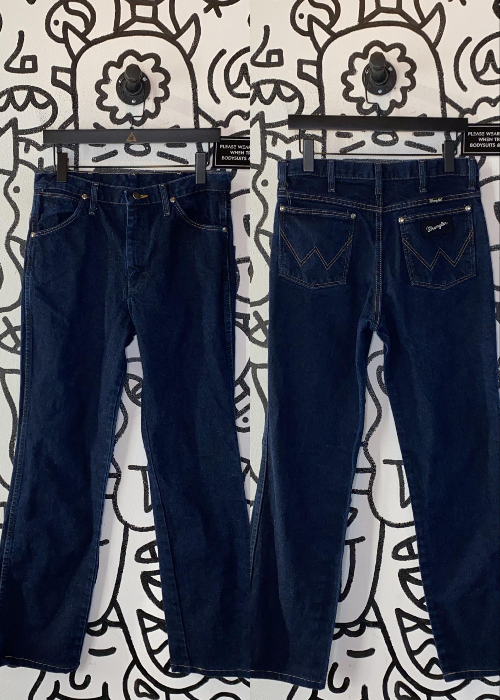 """Vintage Wrangler Dark Wash High Rise Jeans 32"""""""