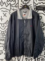 Vintage Nike Black Zip Windbreaker XXL
