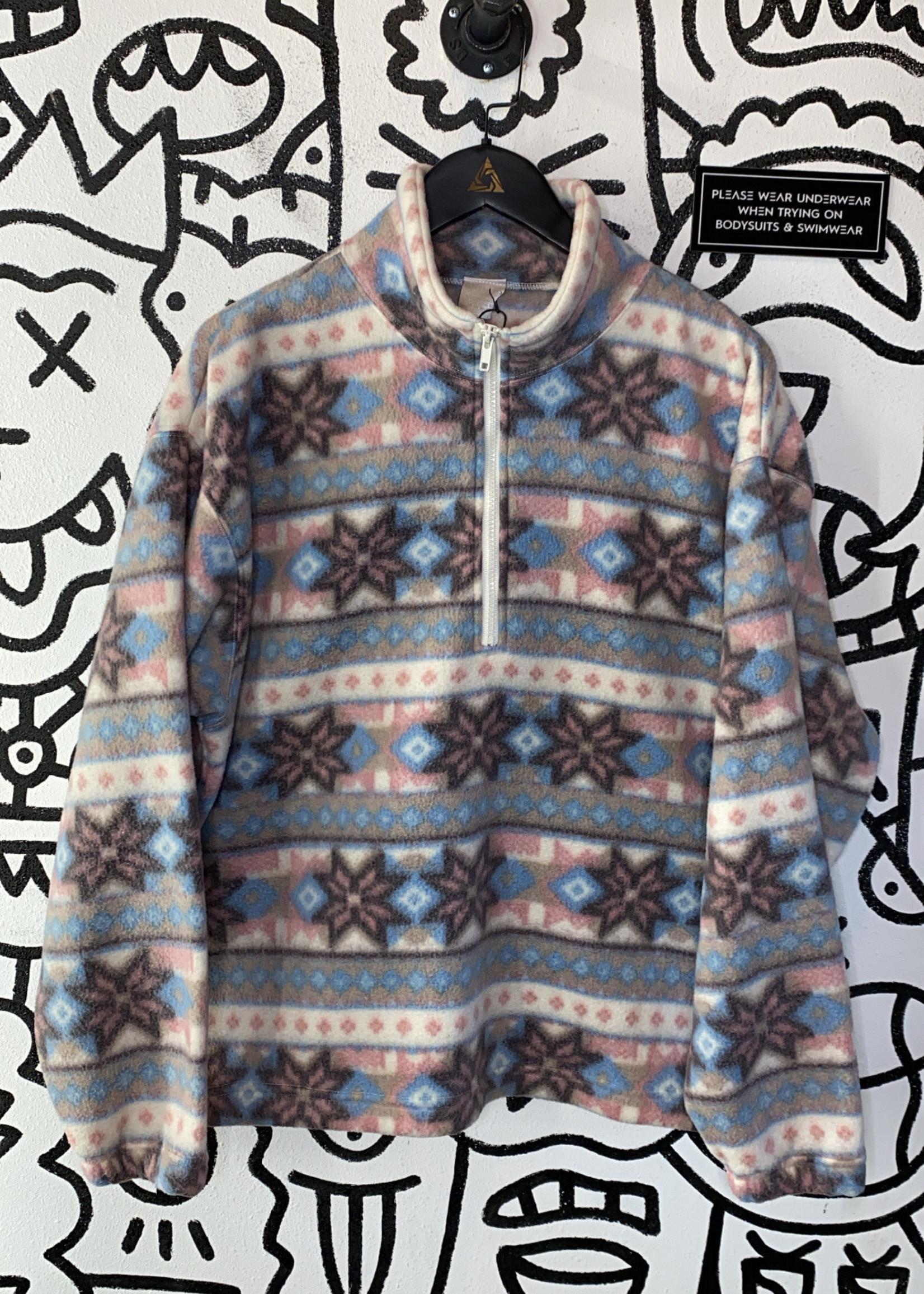 Vintage partners fleece sweatshirt L