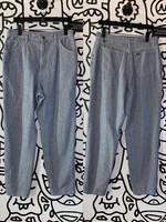 "Vintage Lee Blue White Jeans 32"""