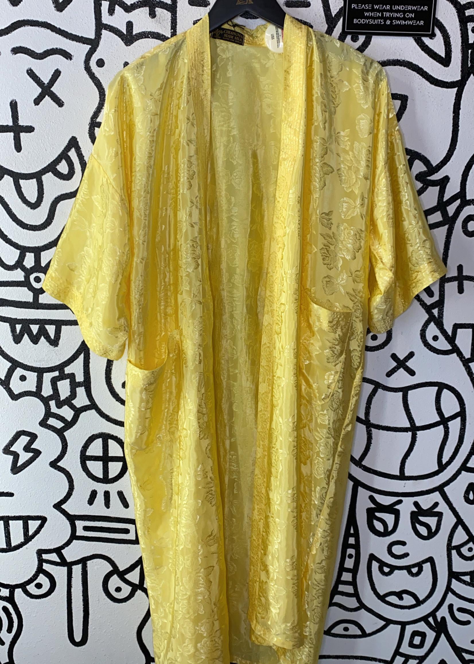 Vintage Chiangmia yellow kimono