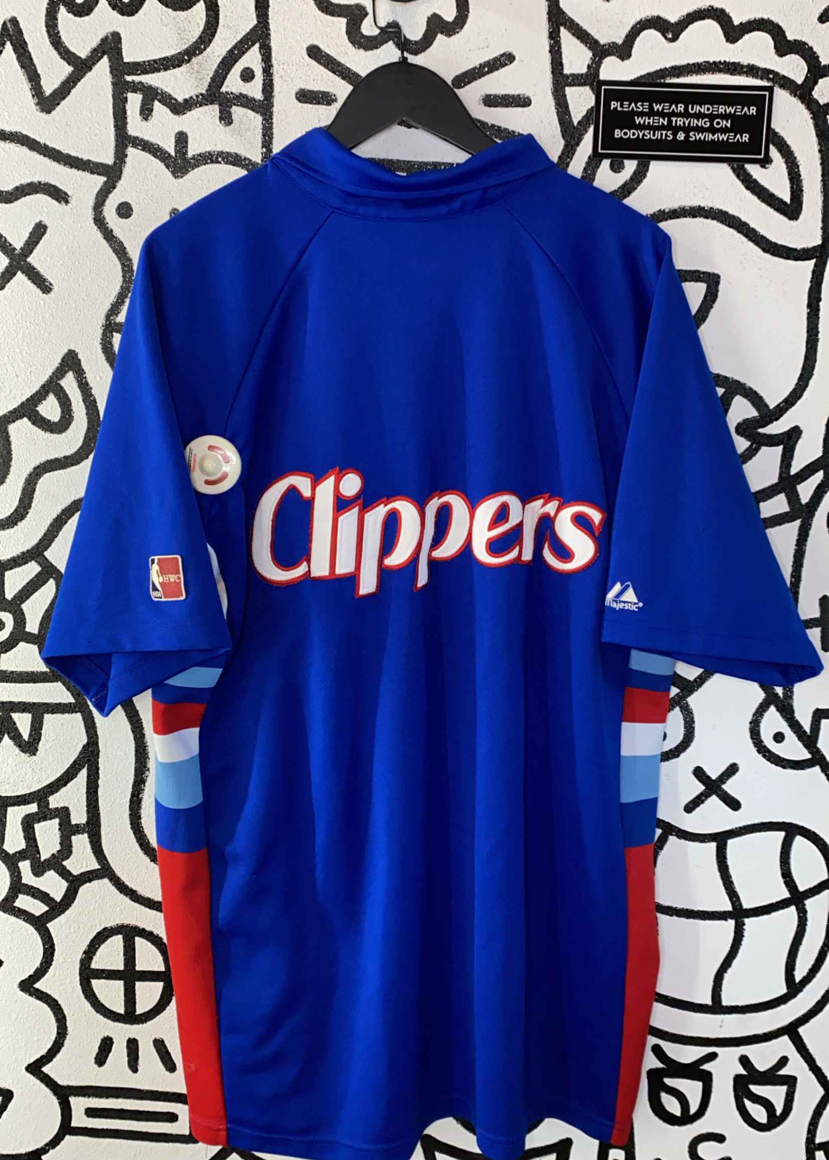 Vintage san diego clippers basketball jersey XL