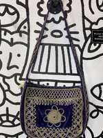 Made in India Purple Embroidered Purse