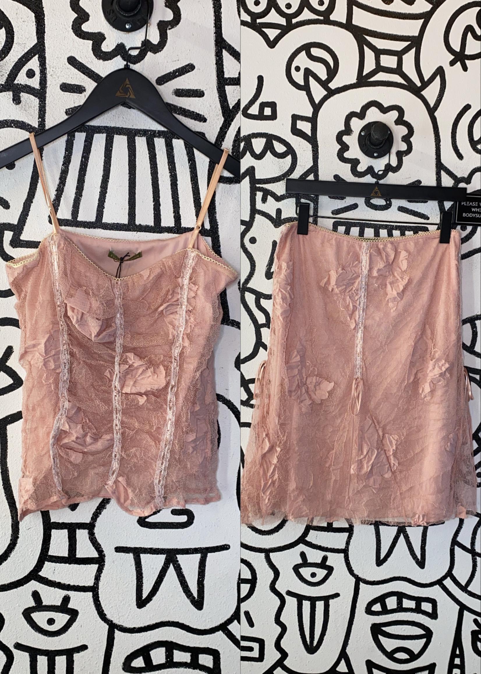 Vintage beau bois pink set M/L