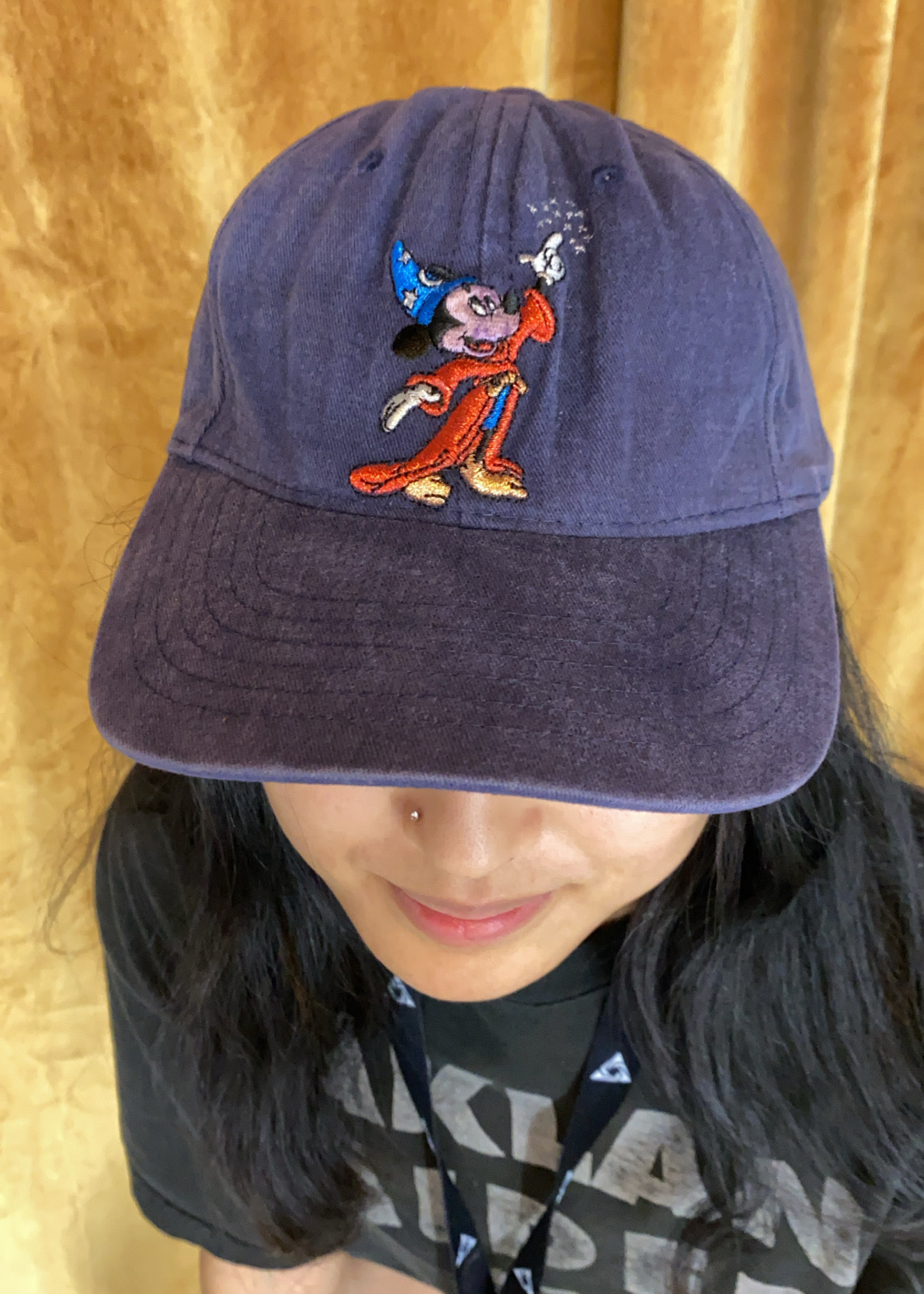 Vintage Walt Disney World Navy Hat OS