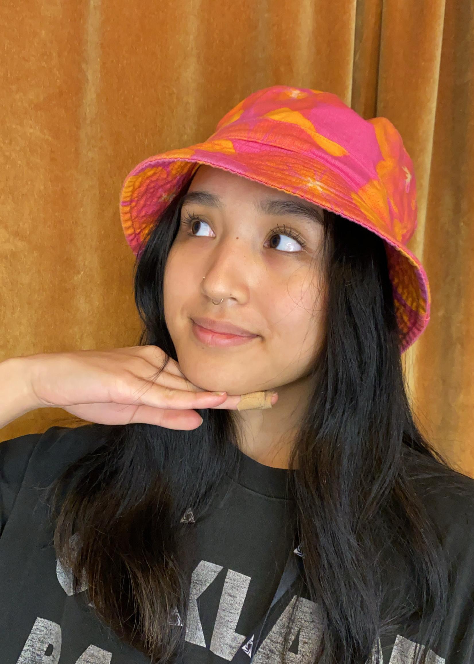Gap Hot Pink Orange Bucket Hat