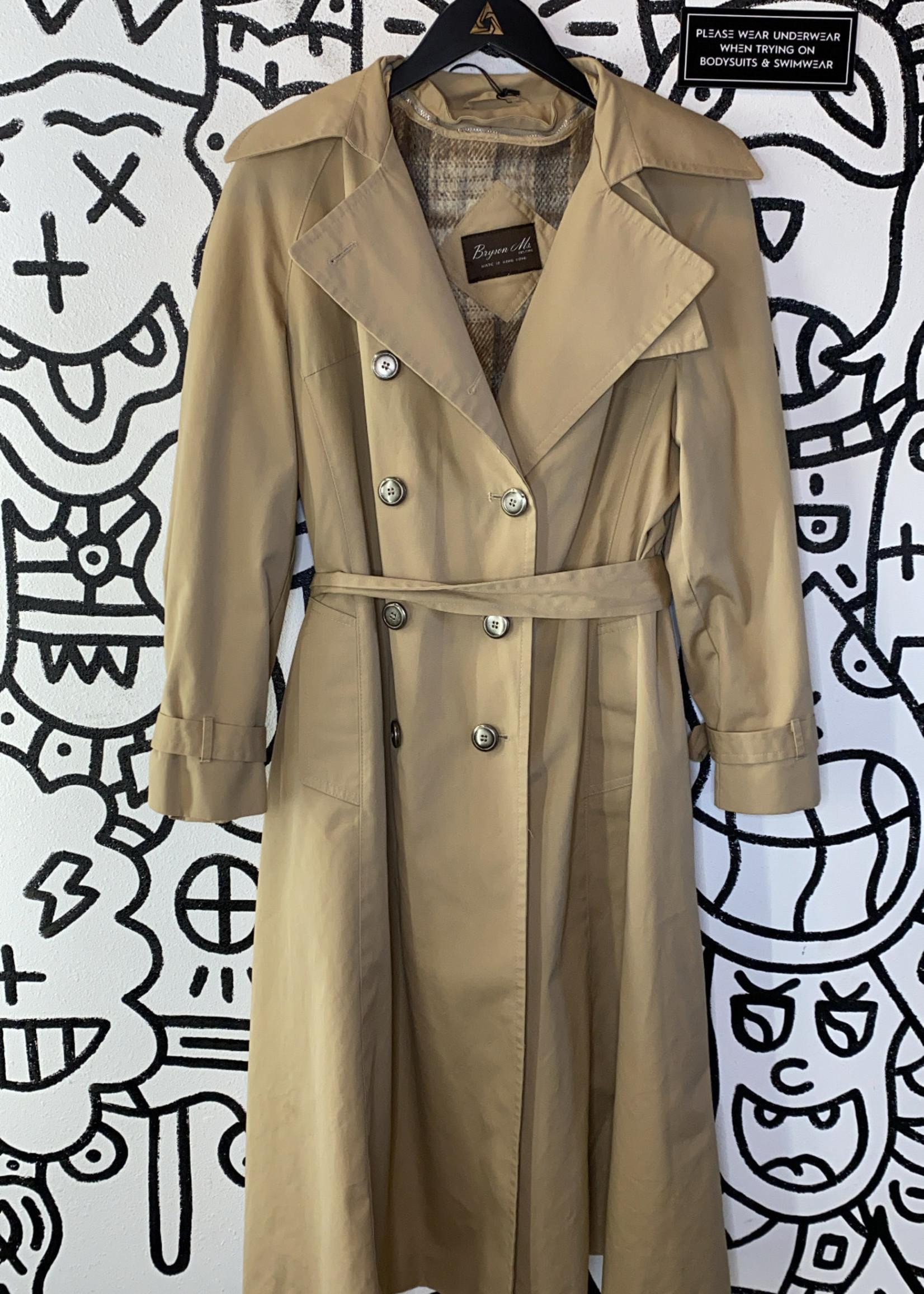Bryson Ms. Vintage Beige Trench Coat L