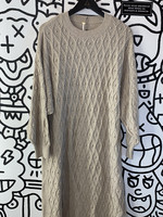 Free People Taupe Sweater Dress S