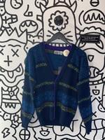 Vintage tomorrows generation knit cardigan L