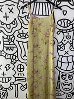 Moda International Vintage Chartreuse Long Tank Dress S