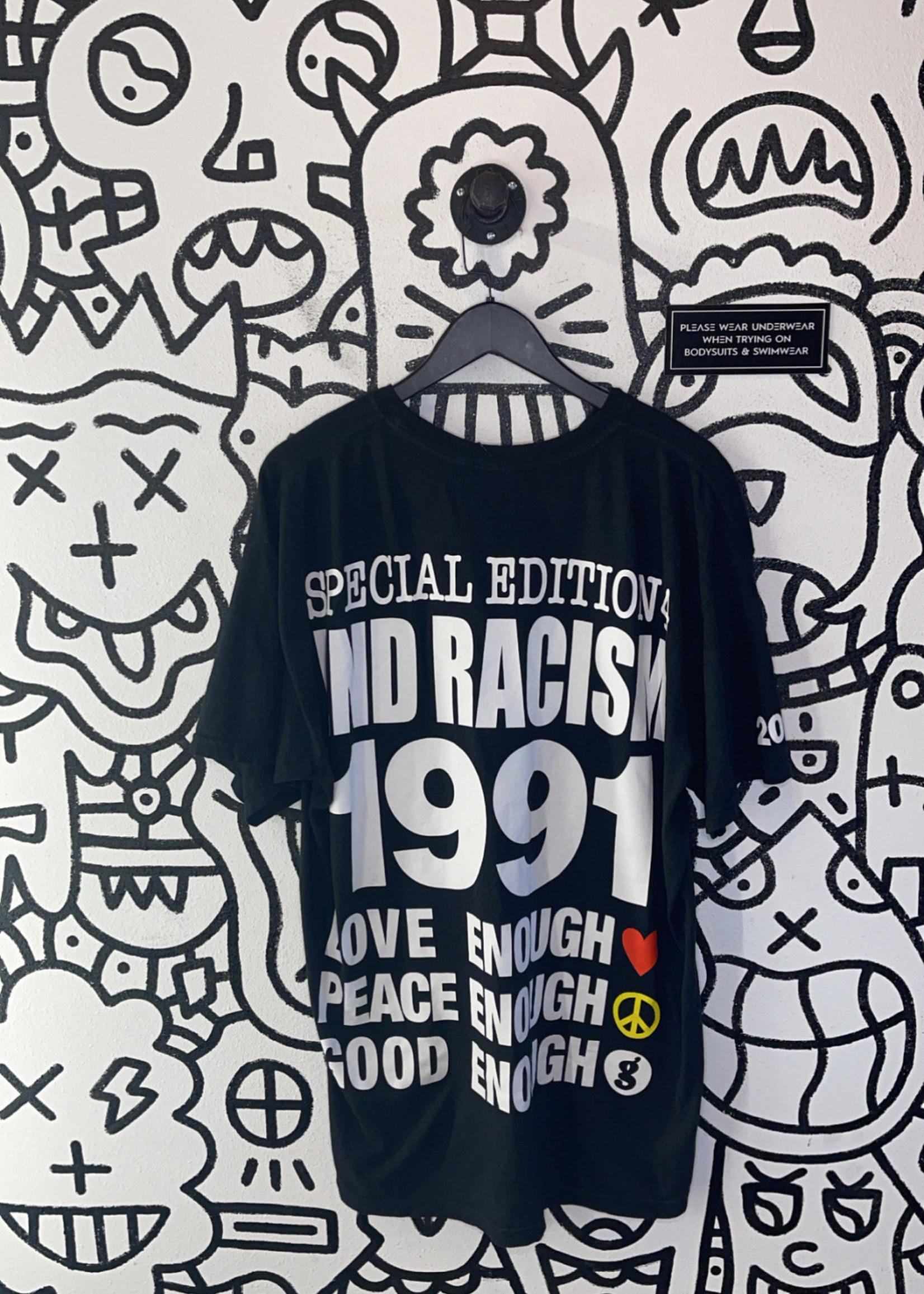 Fragment Design × Infinite Archives End Racism Black Tee XL