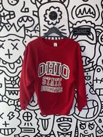 Vintage Ohio State Buckeyes Red Crewneck S