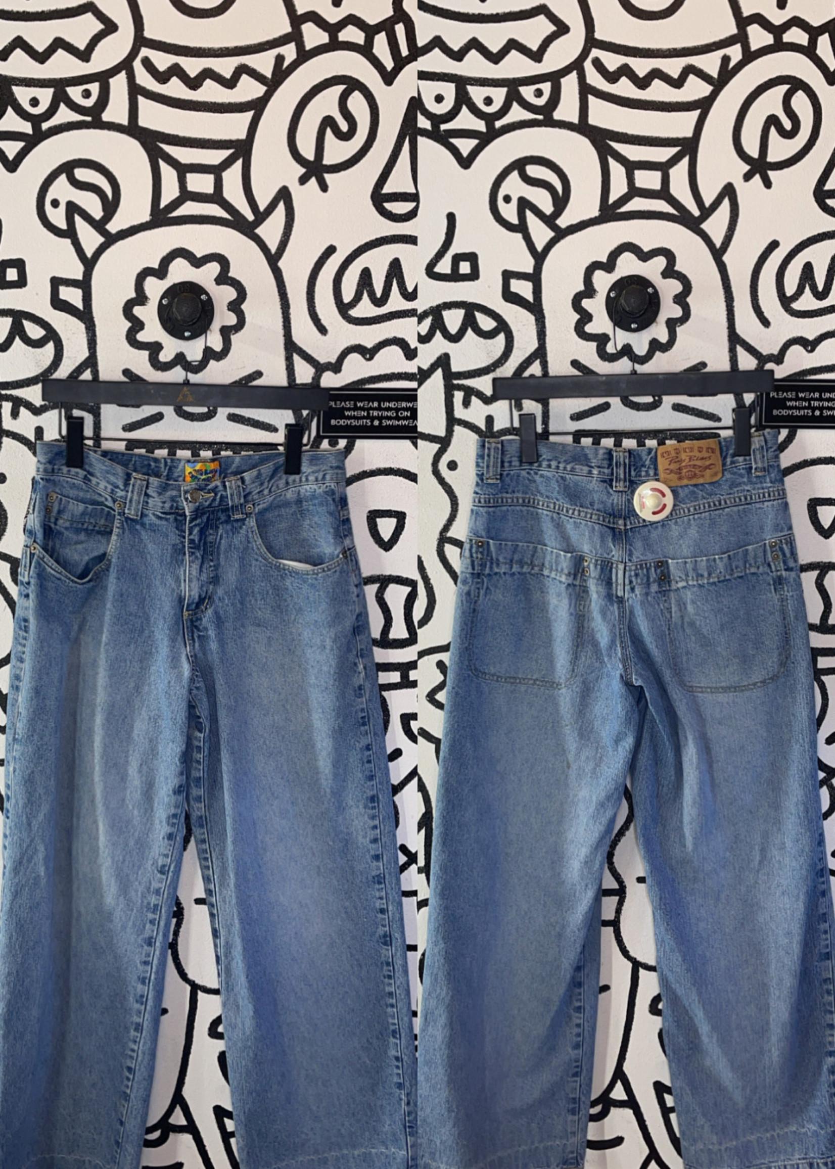Vintage paris blues light washed jeans 30