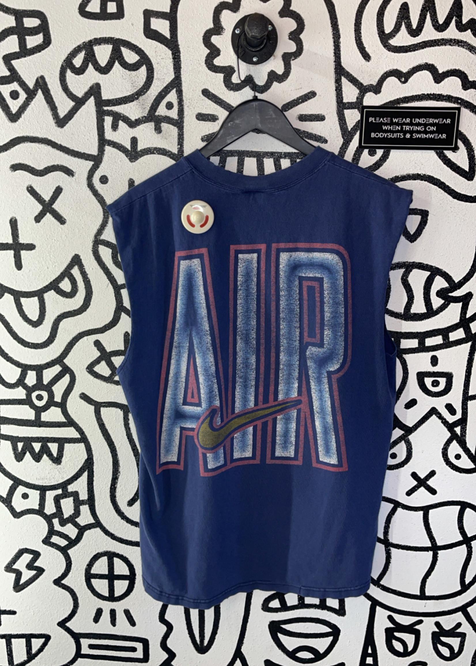 Early '00s Nike Blue 'Air' Tank L