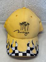 Vintage Mirage Checker Flame Hat