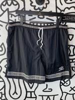 Vintage Umbro Black Stretch Shorts L