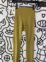 Lululemon Mustard Yellow Leggings
