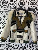 Gallery Vintage White Sheep Hood Jacket M