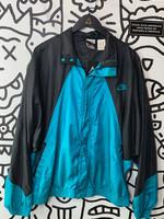 Vintage Nike Teal Black Windbreaker XL