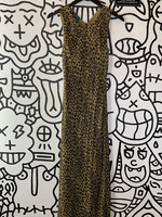 Vintage Ralph Lauren Cheetah Print Dress S