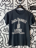 Vintage Jack Daniels Black Single Stitch Tee S