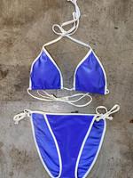 Hot Beach USA Vintage Blue Bikini XL
