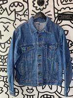 Vintage No Label 'Steel' Denim Jacket L