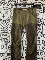 "Fjallraven Green Cargo Pants 32"""